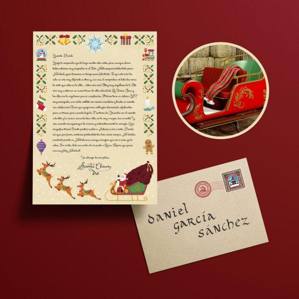 Carta de Papa Noel Personalizada