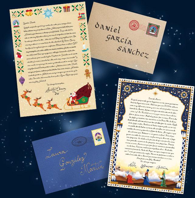 Carta de los Reyes Magos Carta de Papa Noel Personalizada